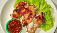 طريقة عمل شرائح الدجاج المشوي