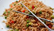 طريقة عمل أرز صيني بالدجاج
