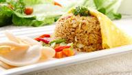 طريقة عمل طاجن الأرز باللحمة