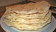 طريقة تحضير خبز الصاج