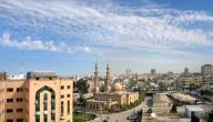 مدن قطاع غزة