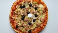 مكونات البيتزا التونسية