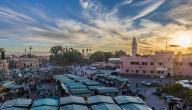 كم مساحة المغرب