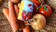 طريقة صناعة معجون الطماطم