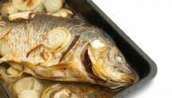 طريقة عمل طاجن سمك بلطي