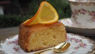 أسهل طريقة لكيكة البرتقال
