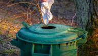 بحث عن تدوير النفايات