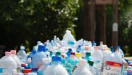 إعادة تدوير القناني البلاستيكية