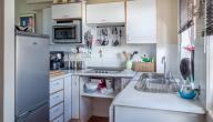ترتيب وتنظيف المطبخ