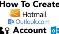 طريقة إنشاء حساب هوتميل
