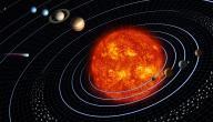 ترتيب الكواكب