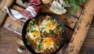 أطباق بيض للفطور