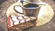 أطباق حلى قهوة