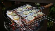أطباق سمك مشوي