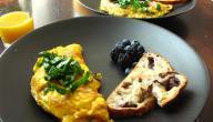 أطباق صباحية