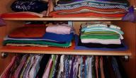 أفضل طريقة لترتيب دولاب الملابس