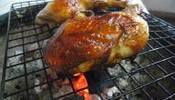 كيف نشوي الدجاج على الفحم