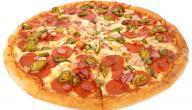 بيتزا بعجينة سائلة