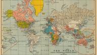أول من رسم خريطة العالم