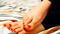 المحافظة على القدمين