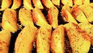 وصفات البطاطا في الفرن