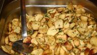 أطباق بالبطاطس