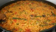 أطباق الأرز في الفرن