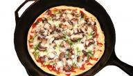 أسهل طريقة لعمل عجينة البيتزا دون خميرة