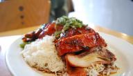 أطباق الدجاج مع الأرز