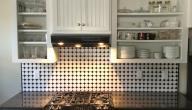 أفكار لخزانات المطبخ