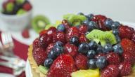 حلويات بالفواكه