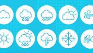 أدوات قياس الطقس