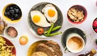 أطعمة فيها بروتين