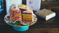 حلويات ملونة