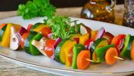 أكل نباتي لذيذ