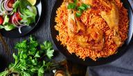 أنواع طبخات الأرز بالدجاج