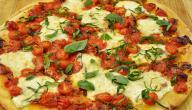 كيفية صنع بيتزا
