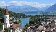 مدينة ثون السويسرية