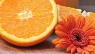 ماسك عصير البرتقال