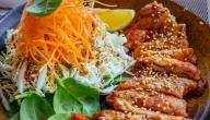 أكلات صينية بصدور الدجاج