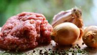 طريقة تبهير اللحم المشوي