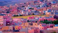 كم تبلغ مساحة المغرب