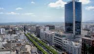 كم تبلغ مساحة تونس