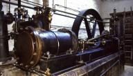 كيف يعمل محرك البخار