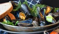 طريقة طهي بلح البحر