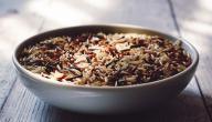 ماء الأرز للبشرة الدهنية