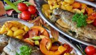 طريقة عمل السمك الصينية فى الفرن