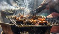 طريقة تتبيل الدجاج المشوي عالفحم
