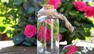 ماء الورد للوجه مع النشا