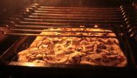 طريقة خبز البيتزا بالفرن الكهربائي